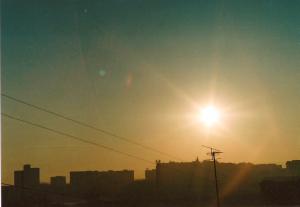 Зенитные... Восход солнца